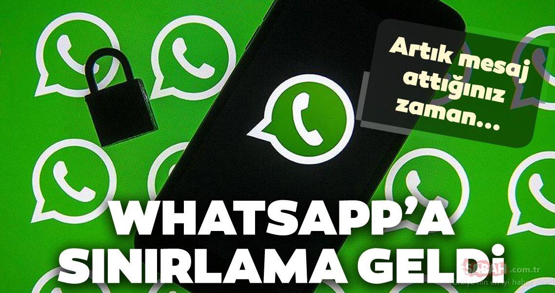 Whatsapp Mesaj Sınırlaması